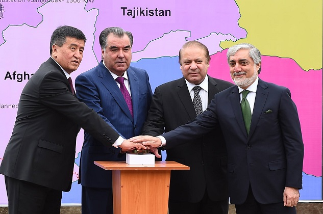 Leaders inaugurate $1 billion Central Asian power line