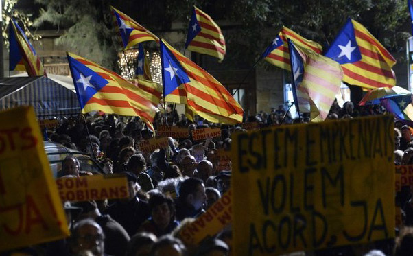 Catalans refuse to celebrate Spain's national holiday