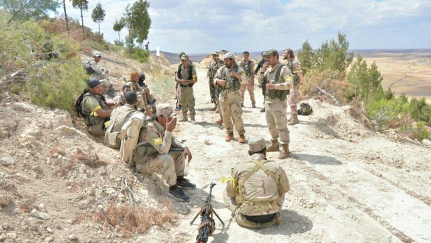PYD pushes to cross west of Euphrates