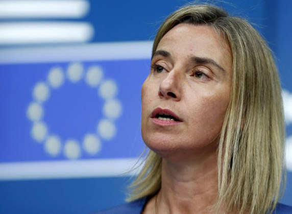 EU's Mogherini to visit Tehran, Riyadh for Syria talks