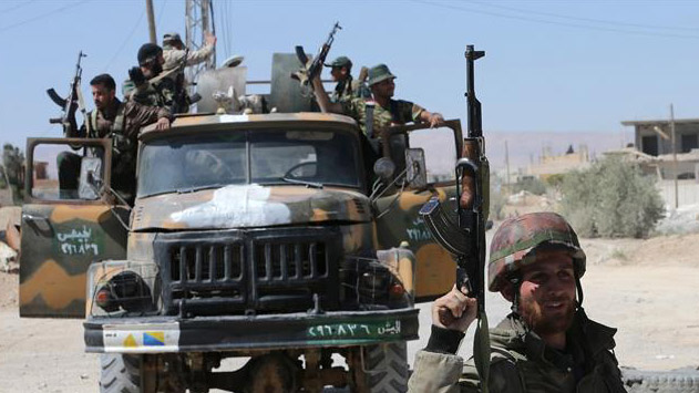 Syrian government declares three-day ceasefire