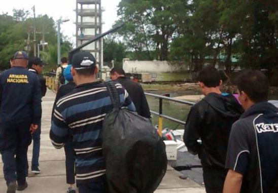 Colombia detains migrants deserted by human traffickers