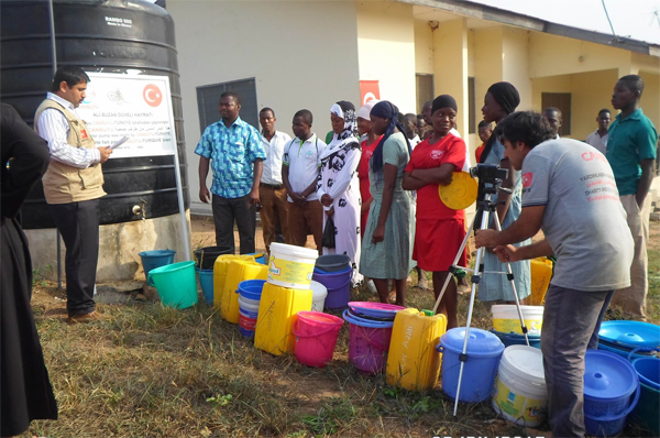 Turkish charity to build water wells in Niger