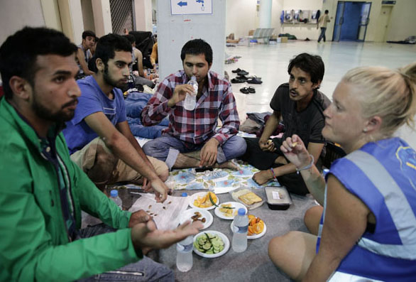 Ramadan and dignity in Piraeus refugee camp
