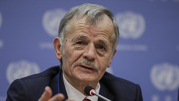Crimean Tatar leader calls for human rights support