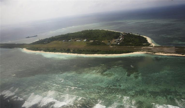 Philippines watching S.China Sea amid Beijing bombers
