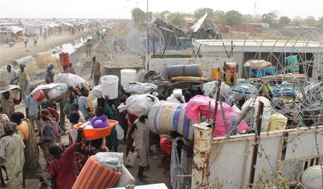 1M South Sudanese fled to neighboring countries
