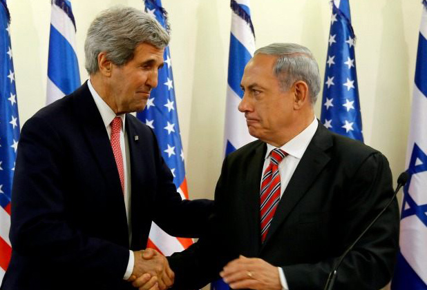 Israel PM to meet Kerry in Rome on peace talks