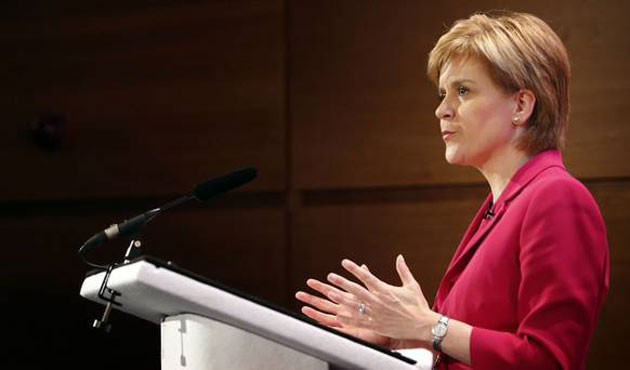 First Minister Sturgeon vows to keep Scotland in EU