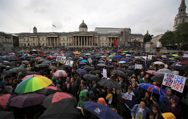 UK: Anti-Brexit rally urges reversal of EU exit