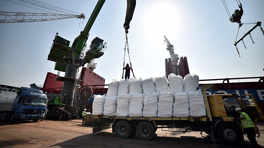 Gaza ready to receive 11,000 tons of Turkish aid