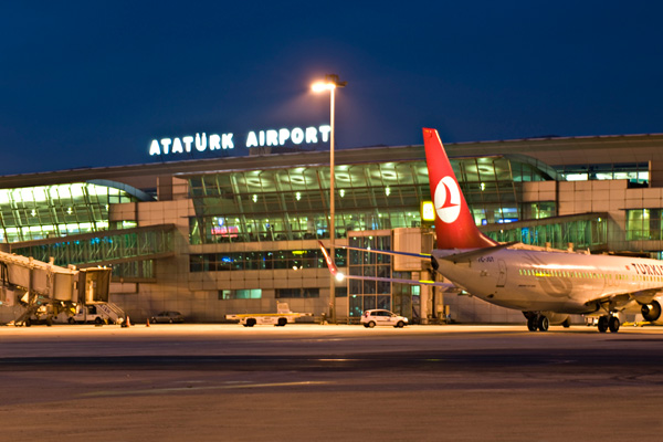 Two foreigners arrested at Istanbul's Ataturk airport