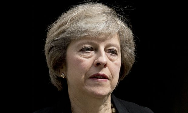 Home secretary leads race to be next British premier