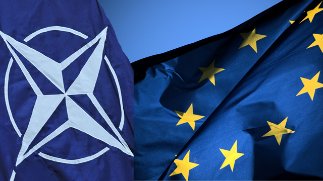 EU agrees common defence is NATO 'mission alone'