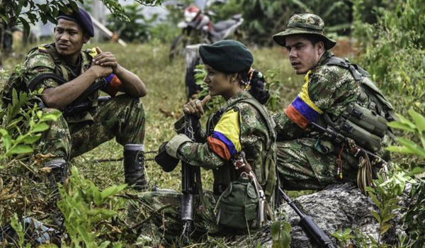 Former Colombia FARC rebels seek forgiveness at tribunal