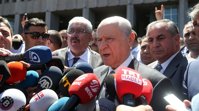 Turkish MHP leader testifies in court over 2013 rally