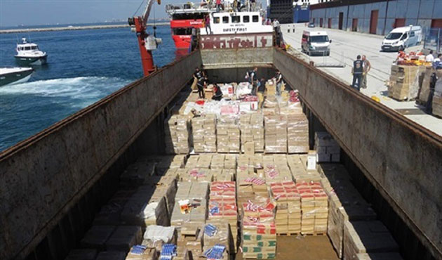 3M packages of smuggled cigarettes seized in Istanbul