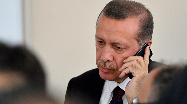 Turkish president in contact with German, NATO leaders