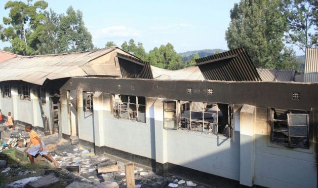 Mystery of rise in arson attacks on Kenyan schools
