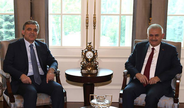 PM Yildirim meets with former President Gul