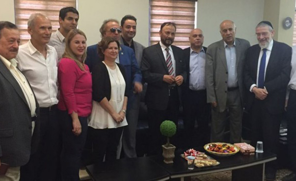 Former Saudi general meets with Israeli officials