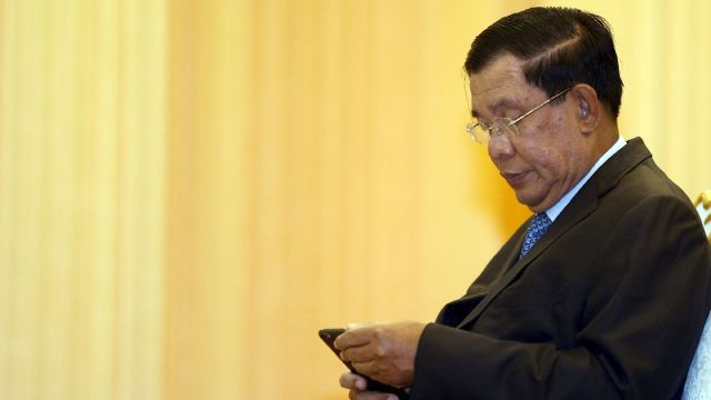 Mysterious overseas 'likes' boost Cambodian PM's page