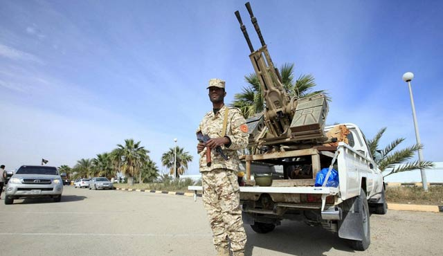 Libyan forces rescue 14 civilians in Sirte