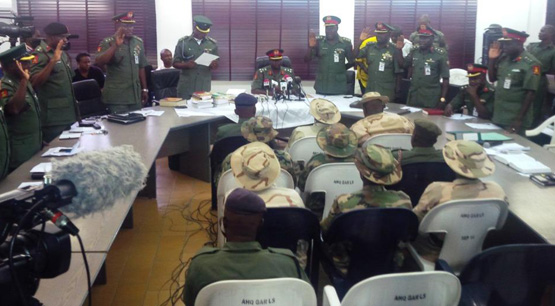 Nigerian court tries 20 soldiers over Boko Haram crimes