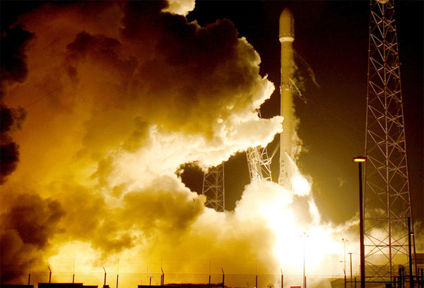 SpaceX carries out 50th launch of Falcon 9 rocket