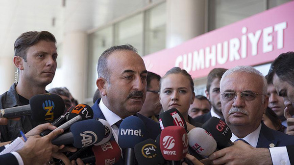 PYD must vacate west of the Euphrates: Turkish FM