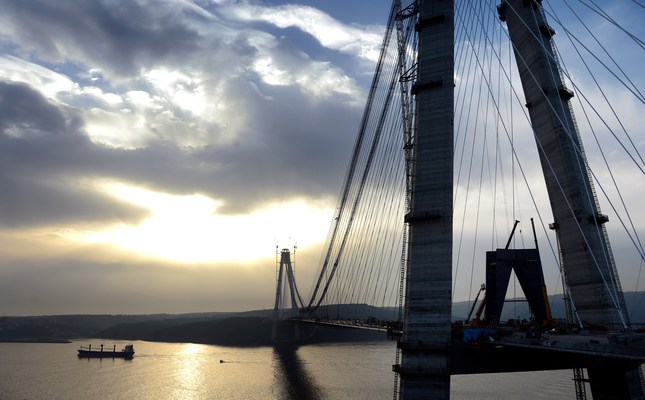 3rd Istanbul bridge to link Europe, Asia to open Friday