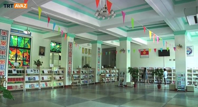 Libraries opening the world for Kyrgyz youth