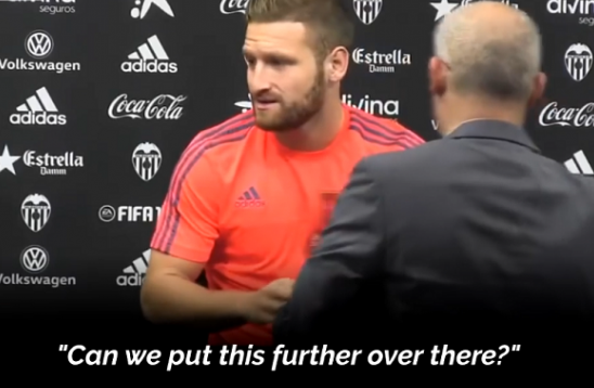 Arsenal player Mustafi Refuses to Pose Next to Beer