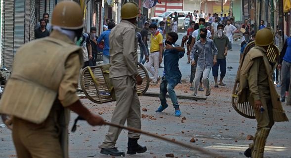 Three suspected rebels killed in Kashmir attack