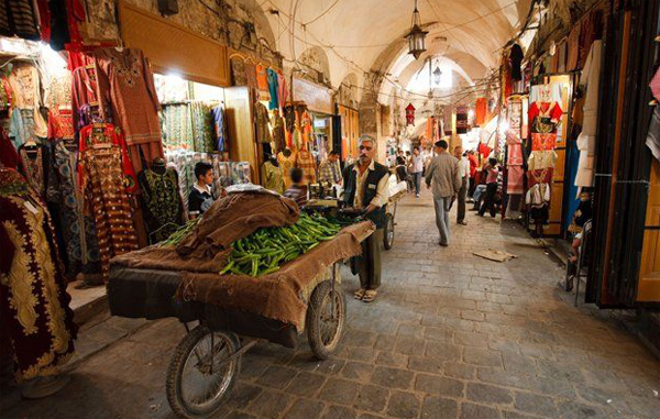 Ancient souk in Homs to be brought back to life