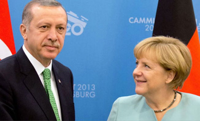 Merkel vows to work 'constructively' with Erdogan