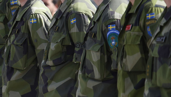 Sweden increases troops, security in Baltic Sea