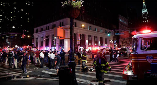29 injured in NYC explosion