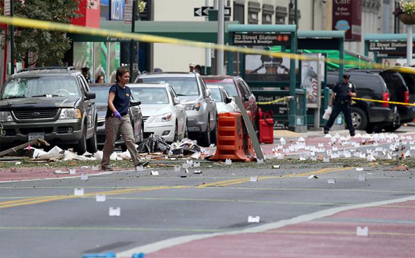 US: NY, NJ bombings suspect charged with federal crimes