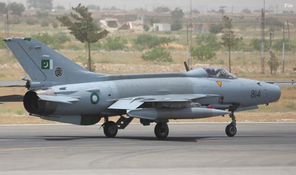 Pakistan Air Force receives 16 new fighter jets