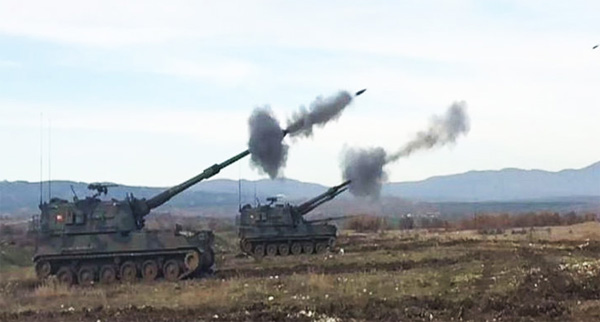 Turkish military hits dozens of ISIL targets in Syria