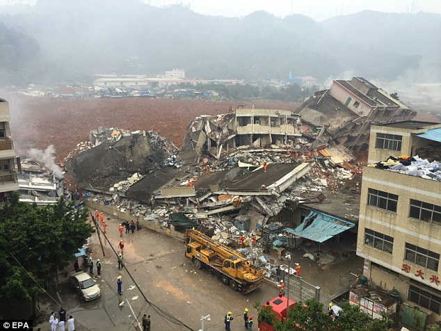 27 missing in E. China landslide