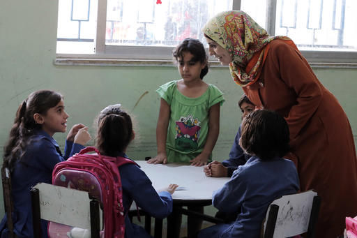 Syrian kids relish return to school in ex-ISIL bastion