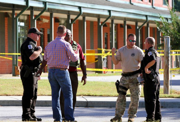 Father killed, three injured in US school shooting
