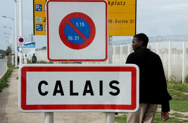 Migrant stowaway crushed by truck's cargo near Calais