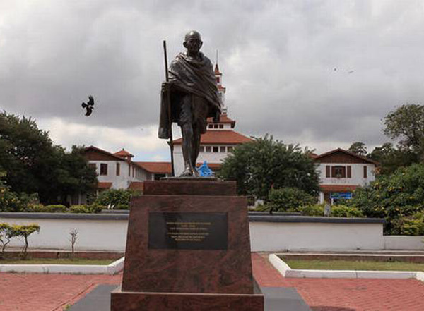 Ghana government to relocate 'racist' Gandhi statue