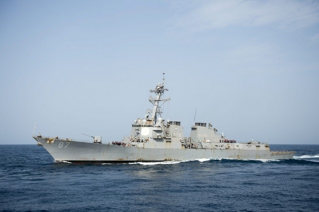 UAE condemns 'Houthi attack' on US warship in Red Sea
