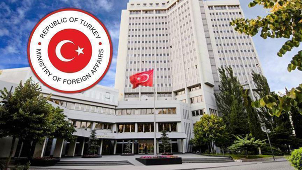 Turkish Foreign Ministry slams Iranian envoy's remarks