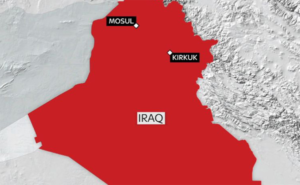 Turkey condemns bomb attack in Iraq's Kirkuk