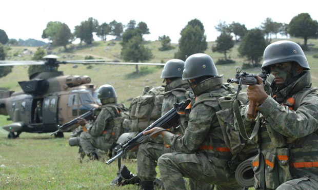 Turkish military hits 80 ISIL targets in Syria